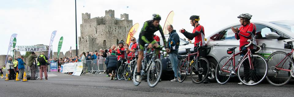 Race Around Ireland Start 2014